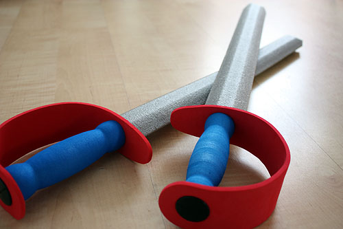 Target Toys For Boys Swords : Two foam toy swords from target